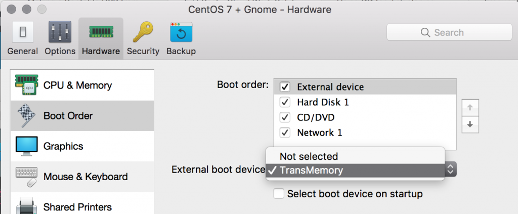 Create CentOS 7 bootable USB on OSX – Cloud Work Solutions